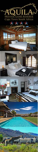 Aquila Game Reserve & Spa - Big 5 Safari